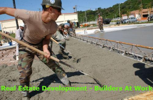 Real Estate Development - Builders At Work